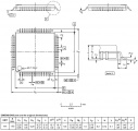 AT91SAM7S256-AU Microchip